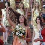 Мисс Россия на конкурсе Мисс Мира 2012
