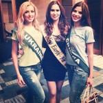 Фото с конкурса красоты Мисс Земля 2013