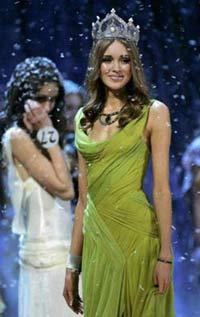 самая красивая девушка 2008